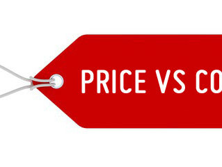 Price vs Cost
