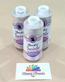 Pastel Sprinkles Maxilock Swirl Variegated All Purpose Sewing Thread Maxi Lock