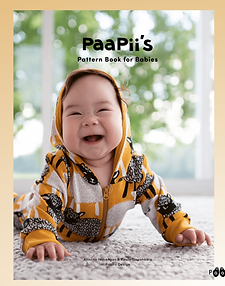 PaaPii Design Baby Pattern Book English Baby Patterns Clothing Baby Sewing Book
