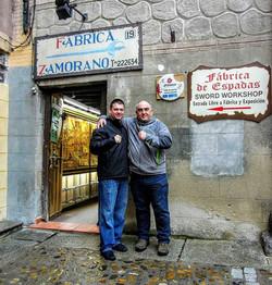 Toledo Zamora Knife Shop