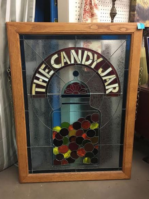 Candy Jar Stained Glass