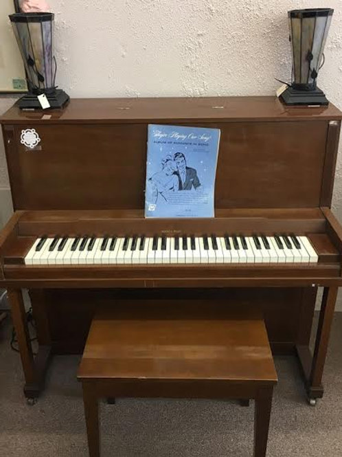 Vintage Marco Polo Piano with Bench
