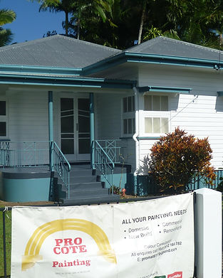 Pro-Cote Painting Cairns - Domestic Services