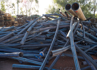 We recycle your pipes!