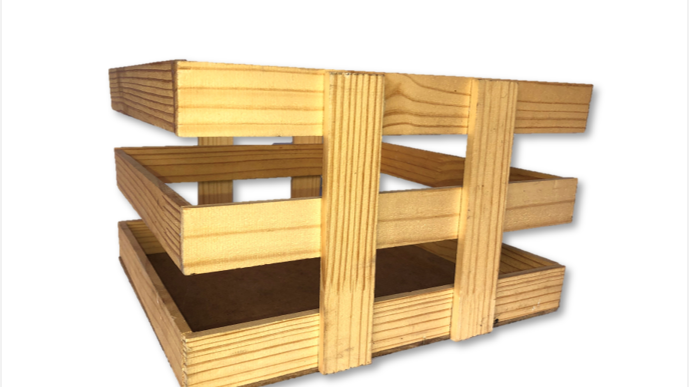 Wooden Crates - 3L