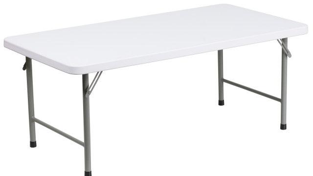 Kids Foldable Trestle Table