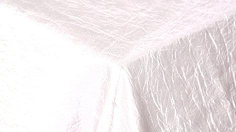 Crushed Taffeta Table Cloths - Assorted Colours