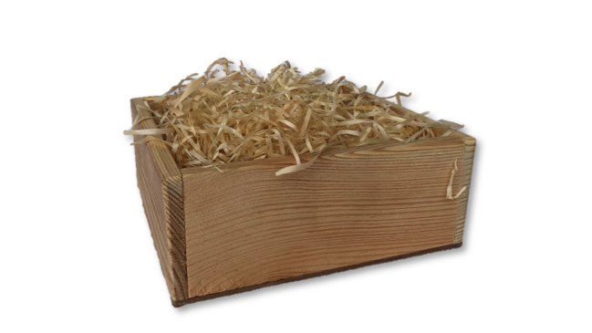 Wooden Box with Fillings