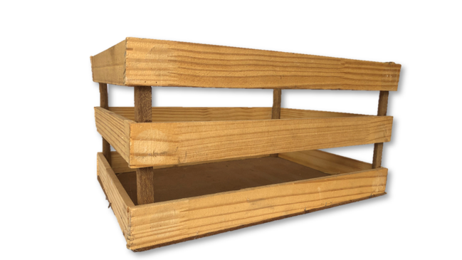 Wooden Crate 3L
