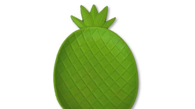 Green Pineapple Plate