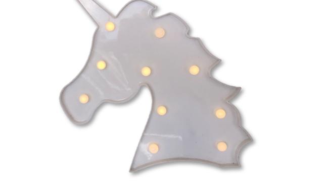 Unicorn Light Box - White