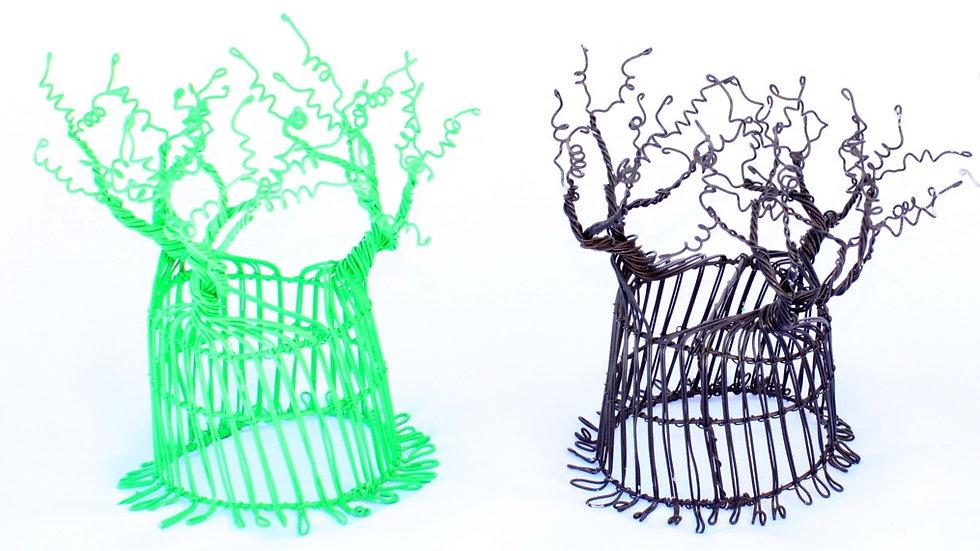 10x Mini Wire Baobab Trees