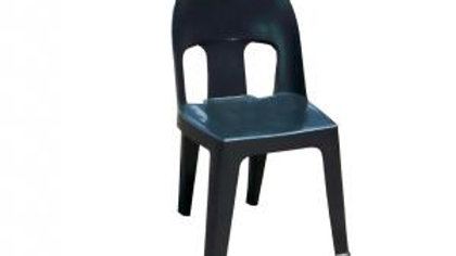 Adult Black Plastic Chair