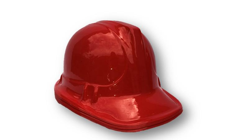 Fireman Hat - Plastic