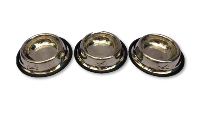 Metal Dog Bowls - Small
