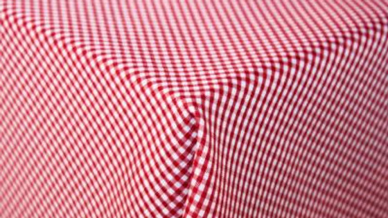 Table Cloth -Small Red Blocks