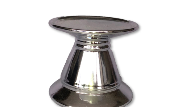 Classic Candle Holder - Silver