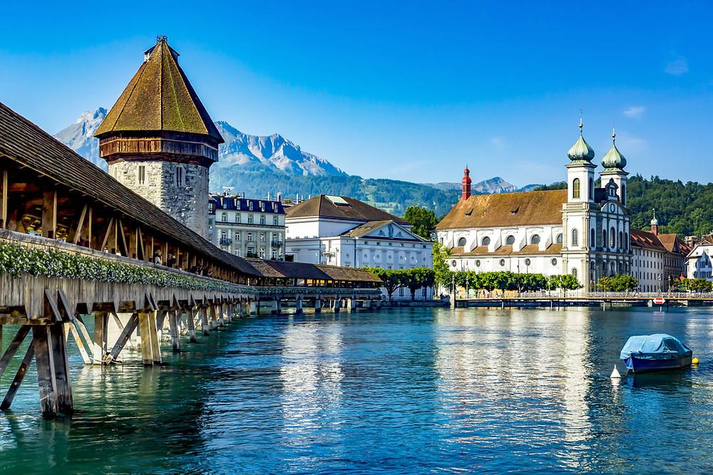 magical old town of Lucerne | Schweiz