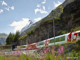 8h - Fahrtzeit | 291 km St. Moritz - Zermatt  291 Brücken  91 Tunnel