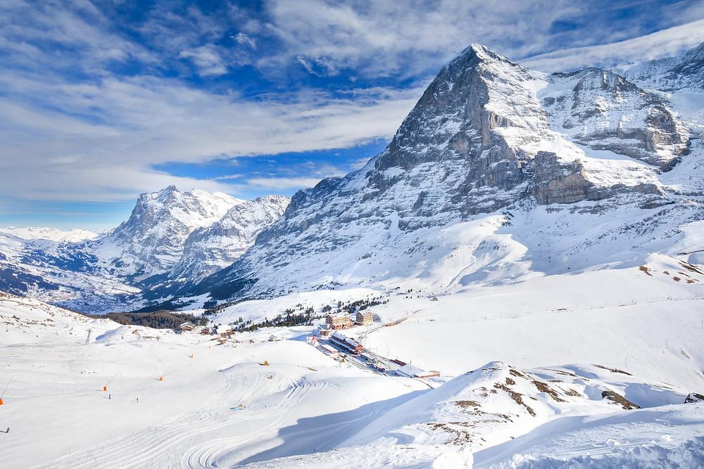 Skiing in Grindelwald | Switzerland | Schweiz | Eiger Northface
