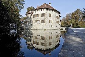 Wasserschloss, Aabach, Schloss Hallwyl, Schlösser, Gefängnis, Mühle, Adelsfamilie, Kulisse, Hochzeit