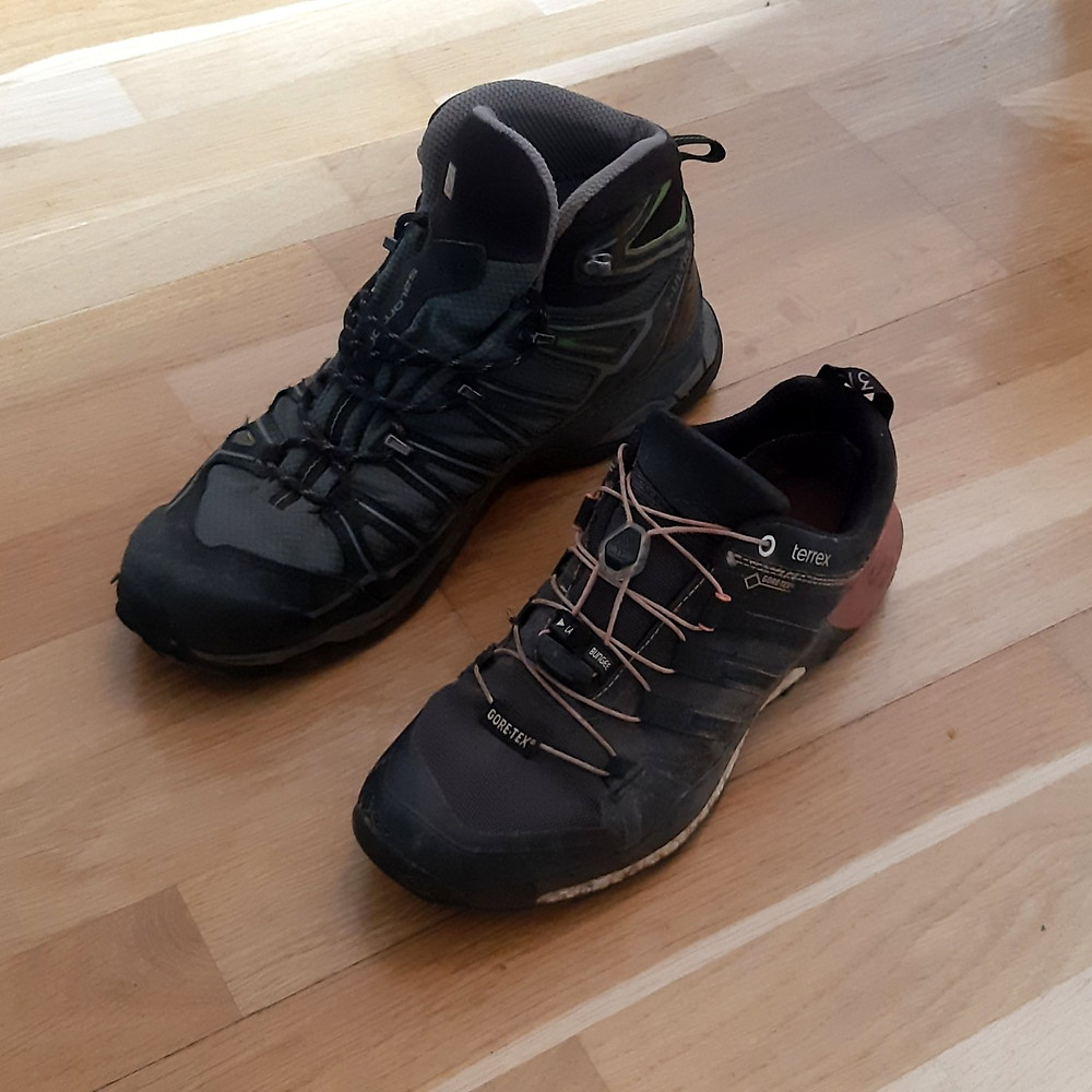 Hiking boots in a dorm | shoes | Switzerland