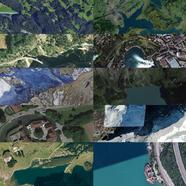 Switzerland from above