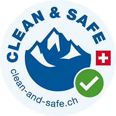 Logo | Clean and Safe | Covid-19