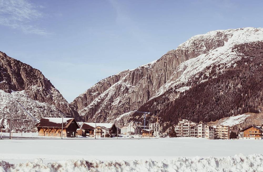 Andermatt in winter | Göschinen gorge | Switzerland