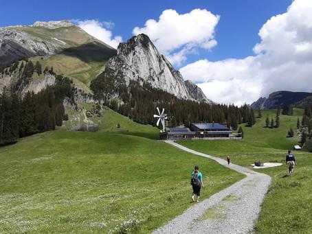 Hike   Barefoot trail Wildhaus to Gamplüt   24.05.2020