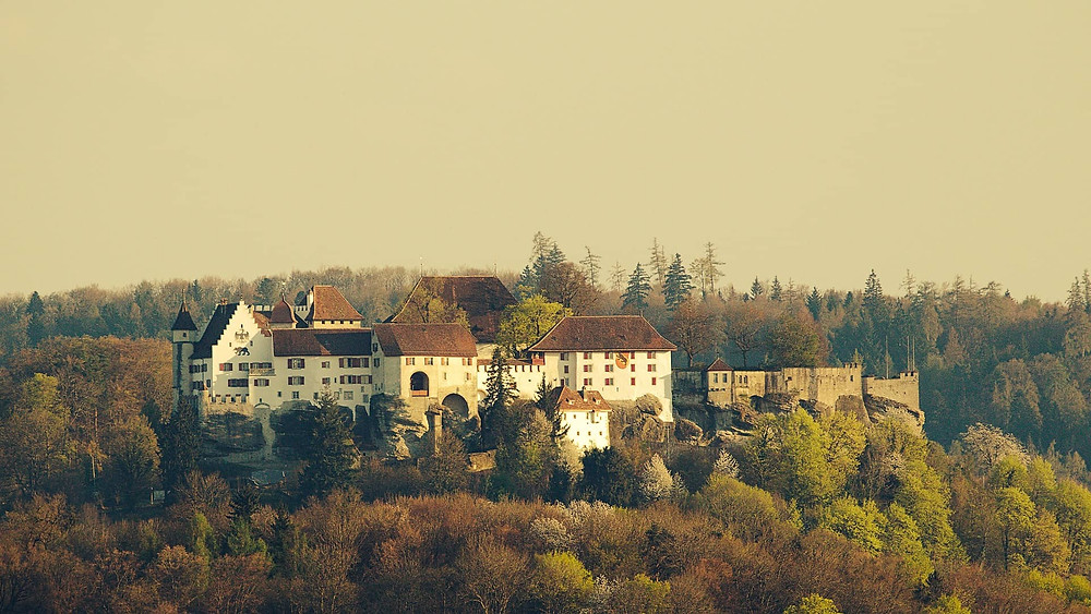 medieval castle of Lenzburg