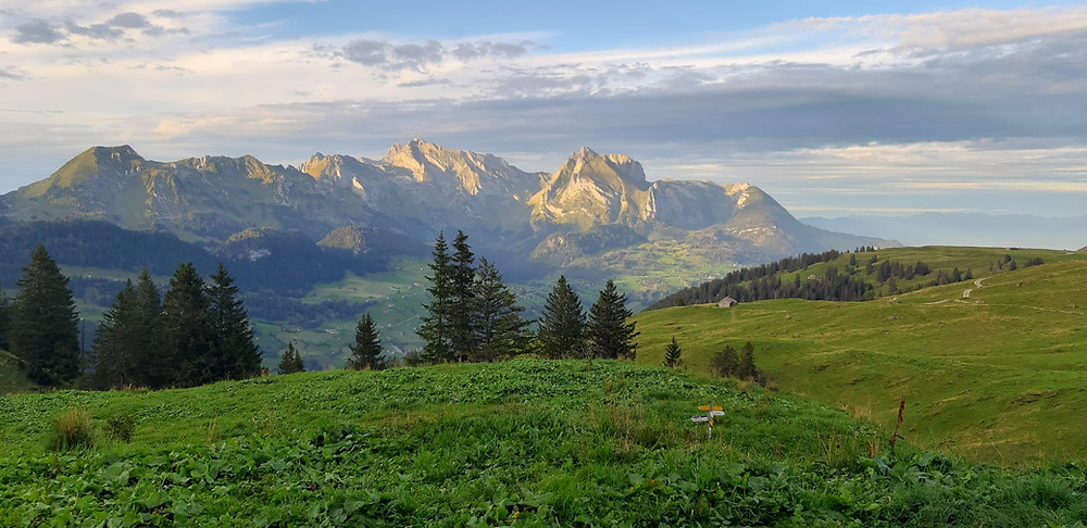 View from the Selun Alp   Switzerland   Mountains