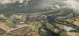 Roman history, Legionärspfad Vindonissa, VIndonissa Legionary Trail, Windisch, Brugg, atmospherically, Roman bathhouse, The Roman theme park