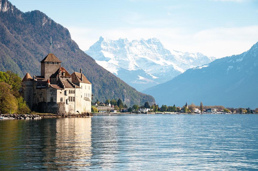 Chateau de Chillon | dents de midi | lac leman
