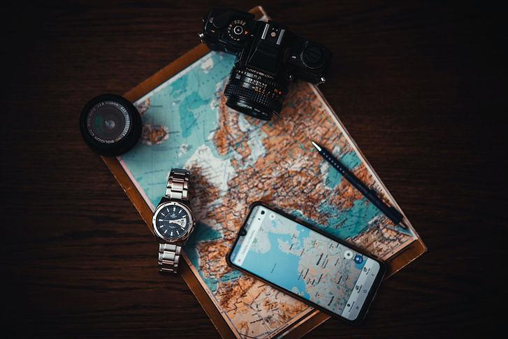 Map of Europe | Travel planner | Reisen Voyage