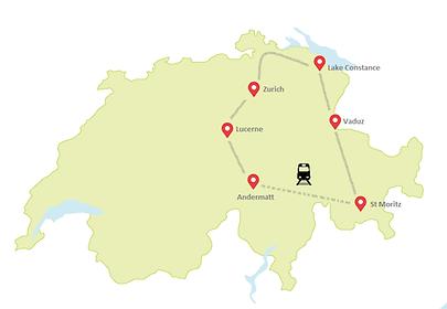 CYOU MAP | Best of the East | Switzerland Schweiz