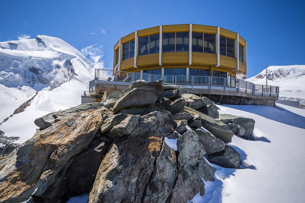 Saas Fee | turning restaurant | Switzerland