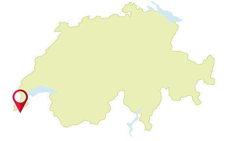MAP | Switzerland Geneva Hike