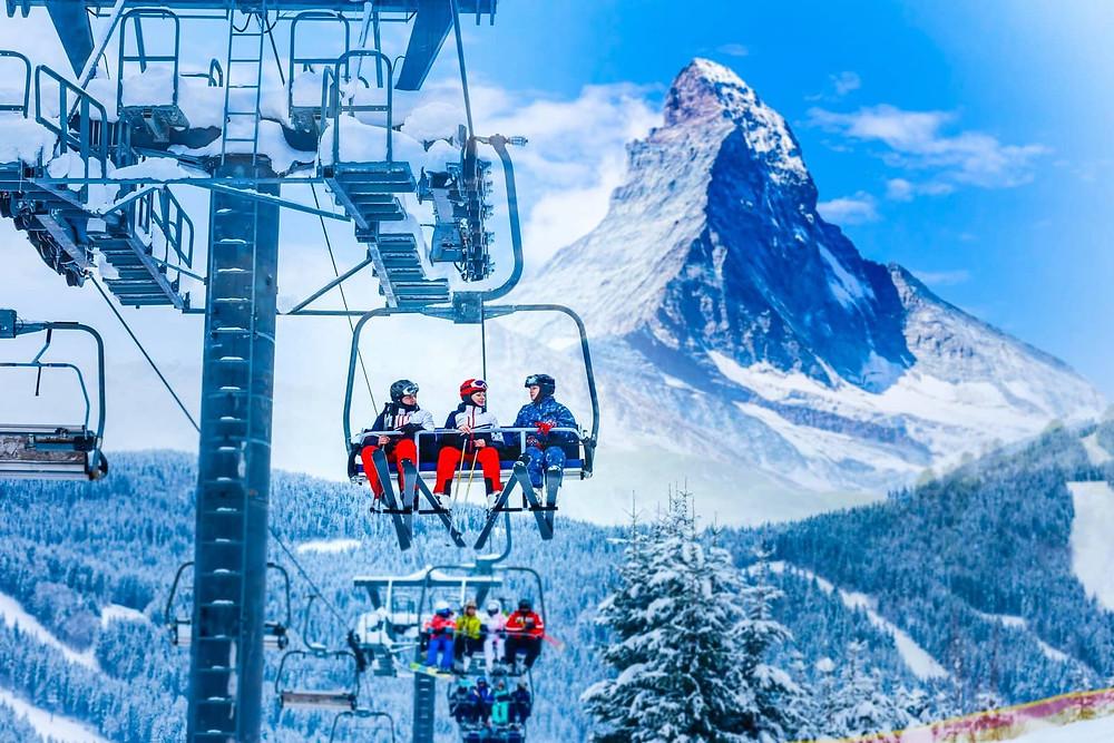 Skilift in Zermatt | Matterhorn | Switzerland