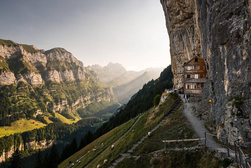 Aescher | House in the mountains | Alpstein Switzerland