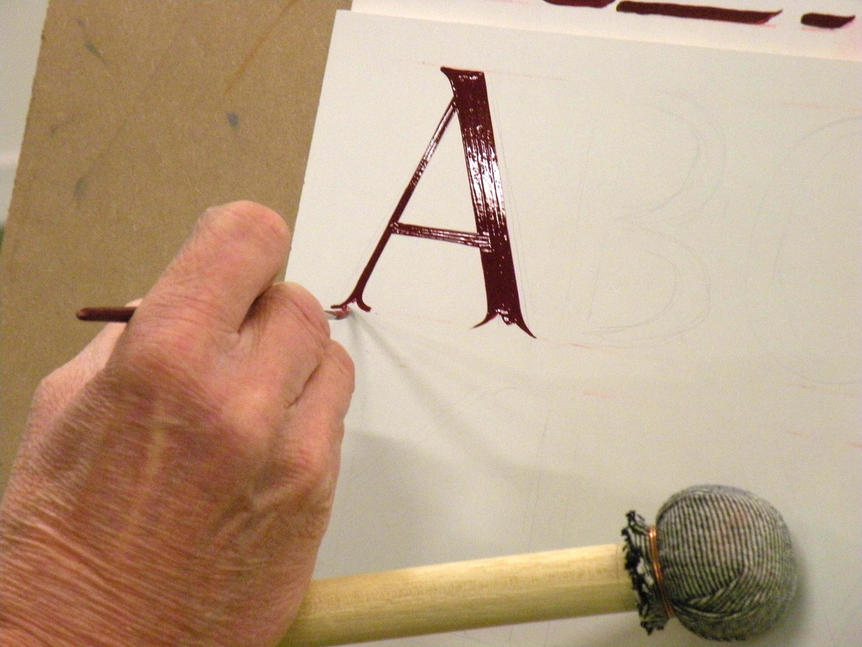 Traditional signwriting Coruse