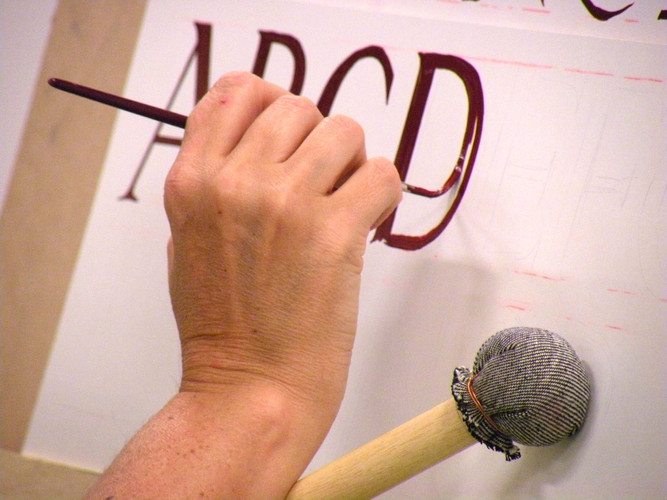Traditional signwriting Course