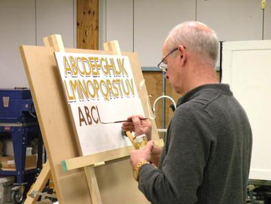 Alphabet signwriting Course