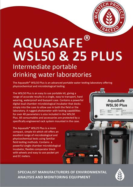 Aquasafe WSL50 & 25 Plus
