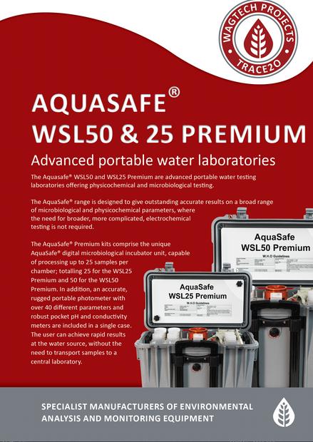 Aquasafe WSL50 & 25 Premium