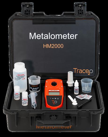 HM2000 Metalometer Full Kit w Backboard.