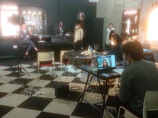 ZOOMでのオンライン記者発表