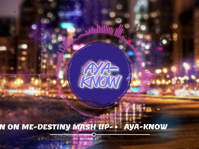 Rain On Me -Destiny mash up -【Lady Gaga, Ariana Grande】 Remixed by  DJ AYA-KNOW