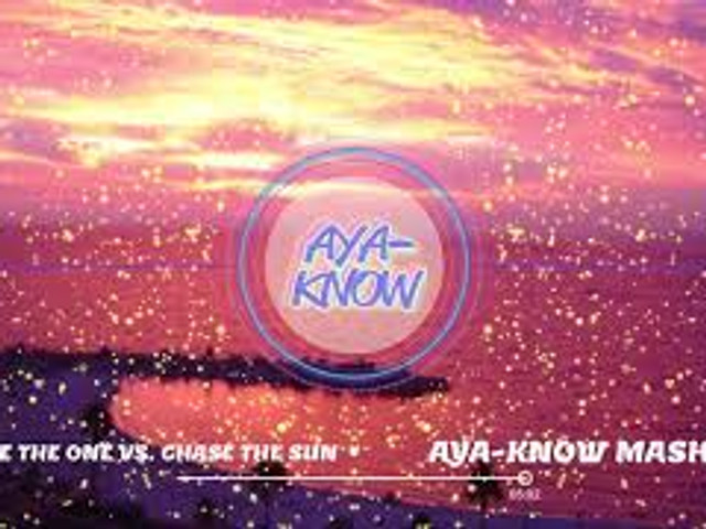 I Could Be The One vs. Chase The Sun Avicii vs Hardwell and Dannic.(AYA-KNOW Mashup)