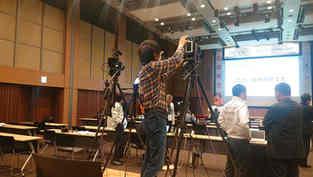 イベント映像オンライン配信、撮影、